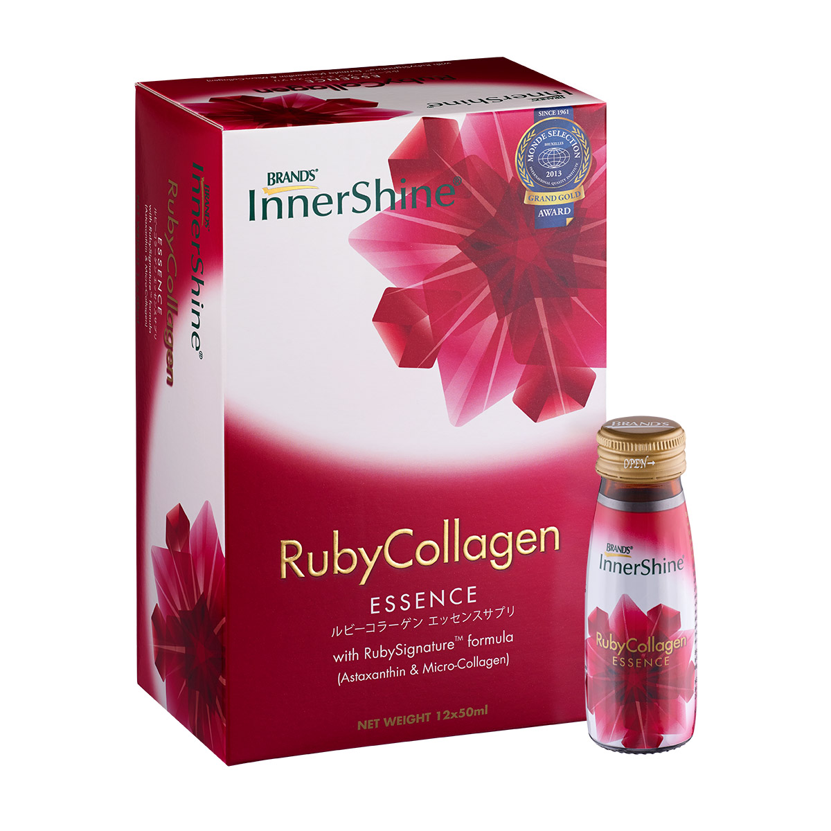 InnerShine RubyCollagen Essence 12s x 50ml | Products | BRAND'S® World