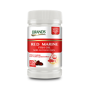 Red Marine Fish Oil 120 Softgels